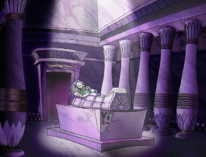 King Ramses' tomb