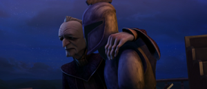 Chancellor Palpatine imposter