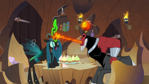 Chrysalis 'stop trying to absorb my essence!' S9E8