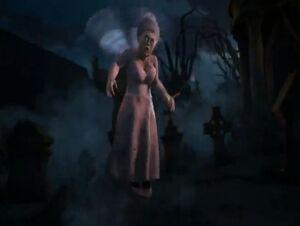 Fairy godmother zombie scared shrekless thriller night