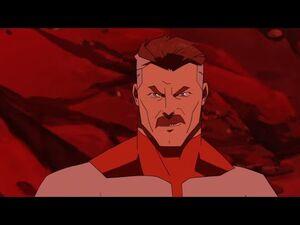 Invincible 2021 - Omni Man erases an entire civilization.