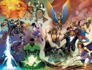 Justice League Vol 4 59 Textless Wraparound Variant