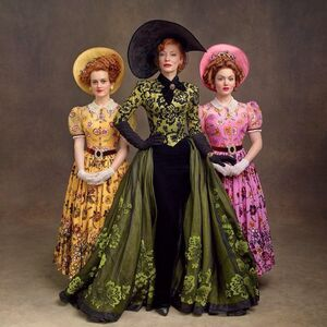 Lady Tremaine with her daughters