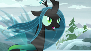Queen Chrysalis 'almost there' S9E8