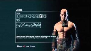 Batman arkham city Zsasz Tapes