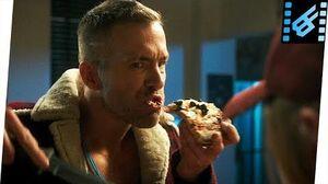 Pizza Delivery Scene Deadpool (2016) Movie Clip