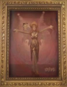 Portrait of Bibi Love in Marian Mallon's office