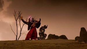 Lord Arcanon's Destroyed Sentai 6 & Captive Heckyl