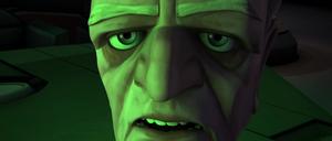 Chancellor Palpatine green glow