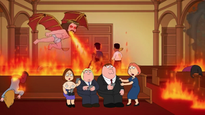 Jesus Burns a Woman to Death