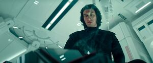 Kylo in his chambers