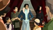 The Legend of Korra (Book 2 RELEASED) - Asami, Bolin and Varrick do business