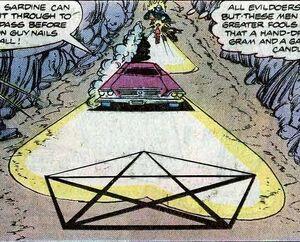 Crimson Mage Pentagram trap