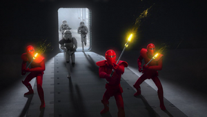 Emperor's Royal Guards pikes