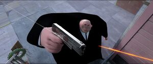 Kingpin prevented from killing Miles