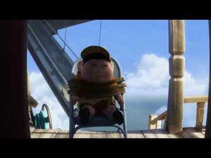 Pixar's Up - The Small Mailman Returns