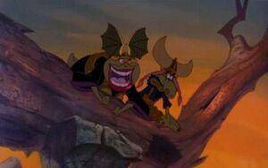 Queen Gnorga & King Llort