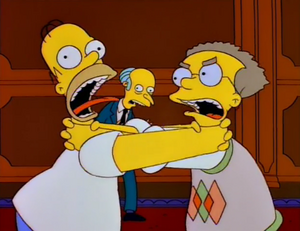 Smithers vs homer