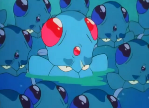 As a Tentacool before it evolves