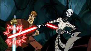 Asajj Ventress jungle duel