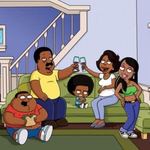 Cleveland and His Family