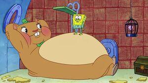 Cuddle matress spongebob