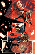Knull (Earth-616) , Knull's Symbiote (Earth-616) and Edward Brock (Earth-616) from King in Black Vol 1 5 003