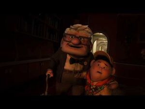 Pixar's Up - Unfinished Work