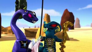 Pythor and Skales (The Rise of the Great Devourer)