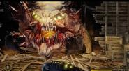 Satan-Chimera Head