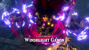 Shard of Calamity Ganon Windblight Ganon