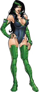 Tanya Sealy (Earth-616) from Deadpool Corps Rank and Foul Vol 1 1