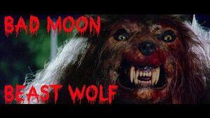 Bad Moon 1996 - thor protect scene - werewolf fight HD