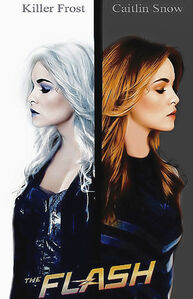 Caitlin snow vs killer frost by russianet-danr47d