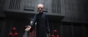 Chancellor Palpatine persuades