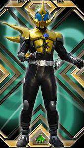 Kamen Rider Caucasus without Hyper Zecter