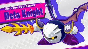 The Lone Swordsman Meta Knight