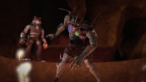 Tiger Claw and Undead Shredder