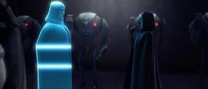 Count Dooku Teth hologram