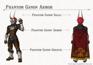 Phantom Ganon Armor set (Breath of the Wild)