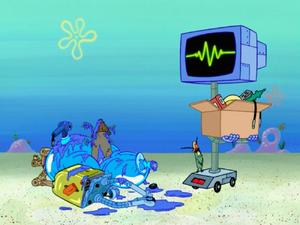 SpongeBob SquarePants Karen the Computer Overload