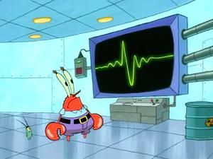 SpongeBob SquarePants Karen the Computer with Plankton and Krabs