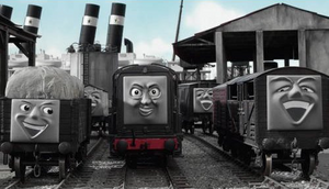 The Troublesome Trucks with Diesel