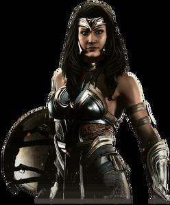 Wonder woman v 2 injustice 2 render by yukizm-dbm6556