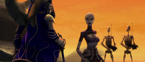 Asajj reassures king