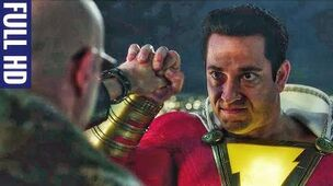 Shazam! (2019) Shazam Facing Dr Sivana Scene Full HD