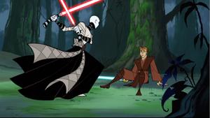 Skywalker Ventress rushed