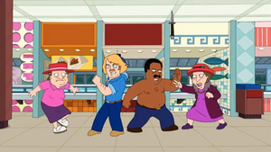 Cleveland and Terry Beat Up Old Ladies