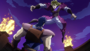 Dio vs. Jojo - Last Fight