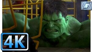 Hulk Escapes Underground Base Hulk (2003) 4K ULTRA HD